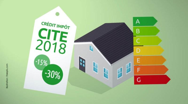 Le Crédit d'impôt transition énergétique (CITE)
