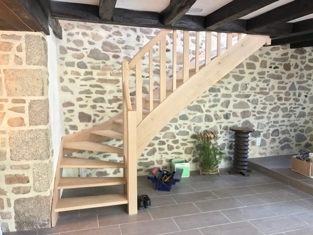 Escalier en bois Charente