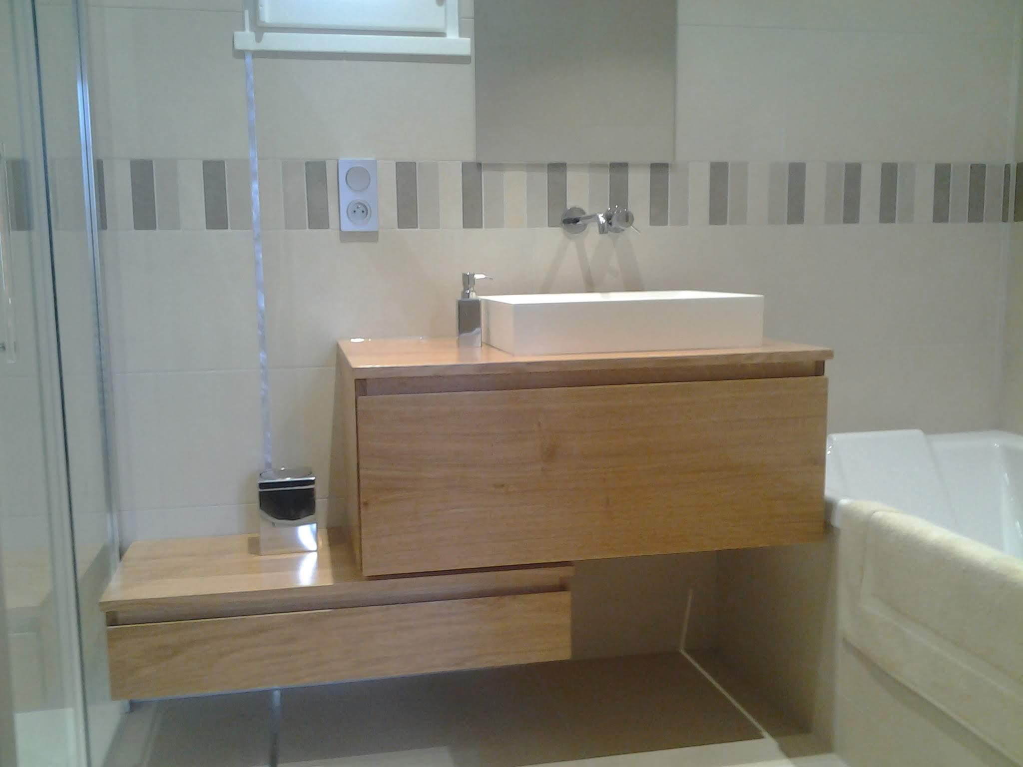 Menuisier Charente salle de bain