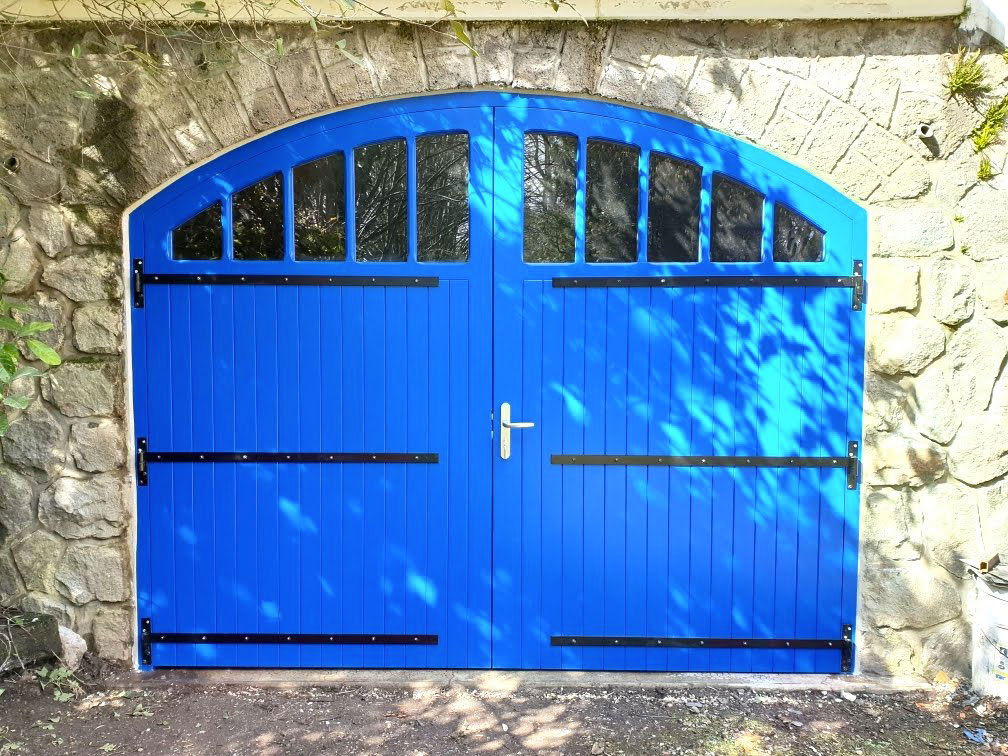 Portail bois Charente