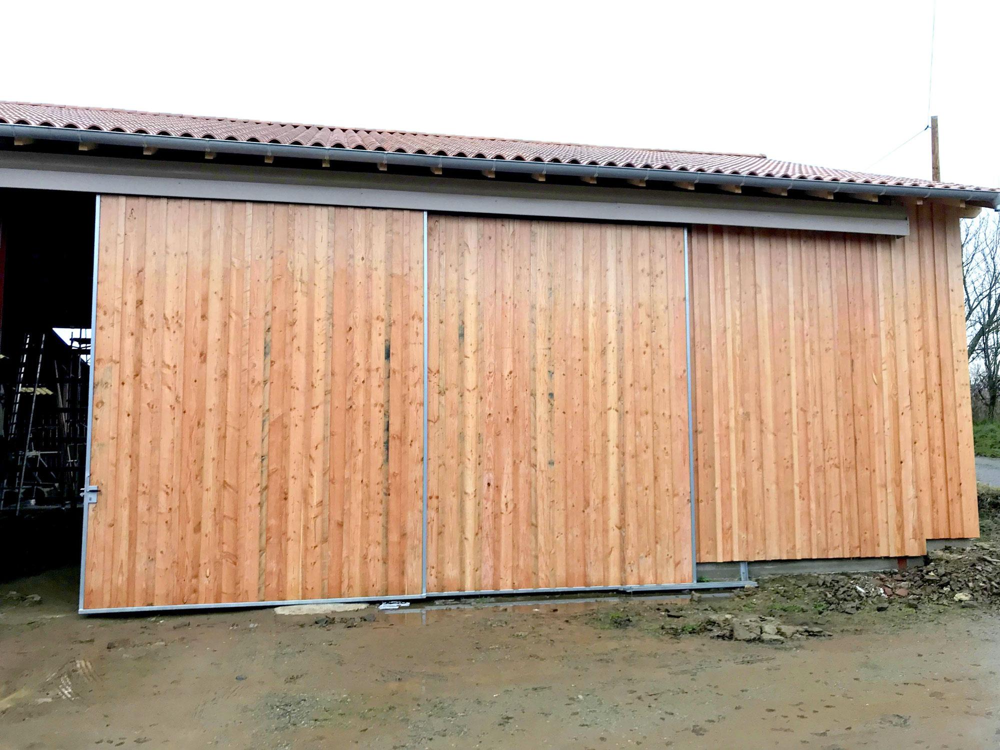 Portail en bois Limoges