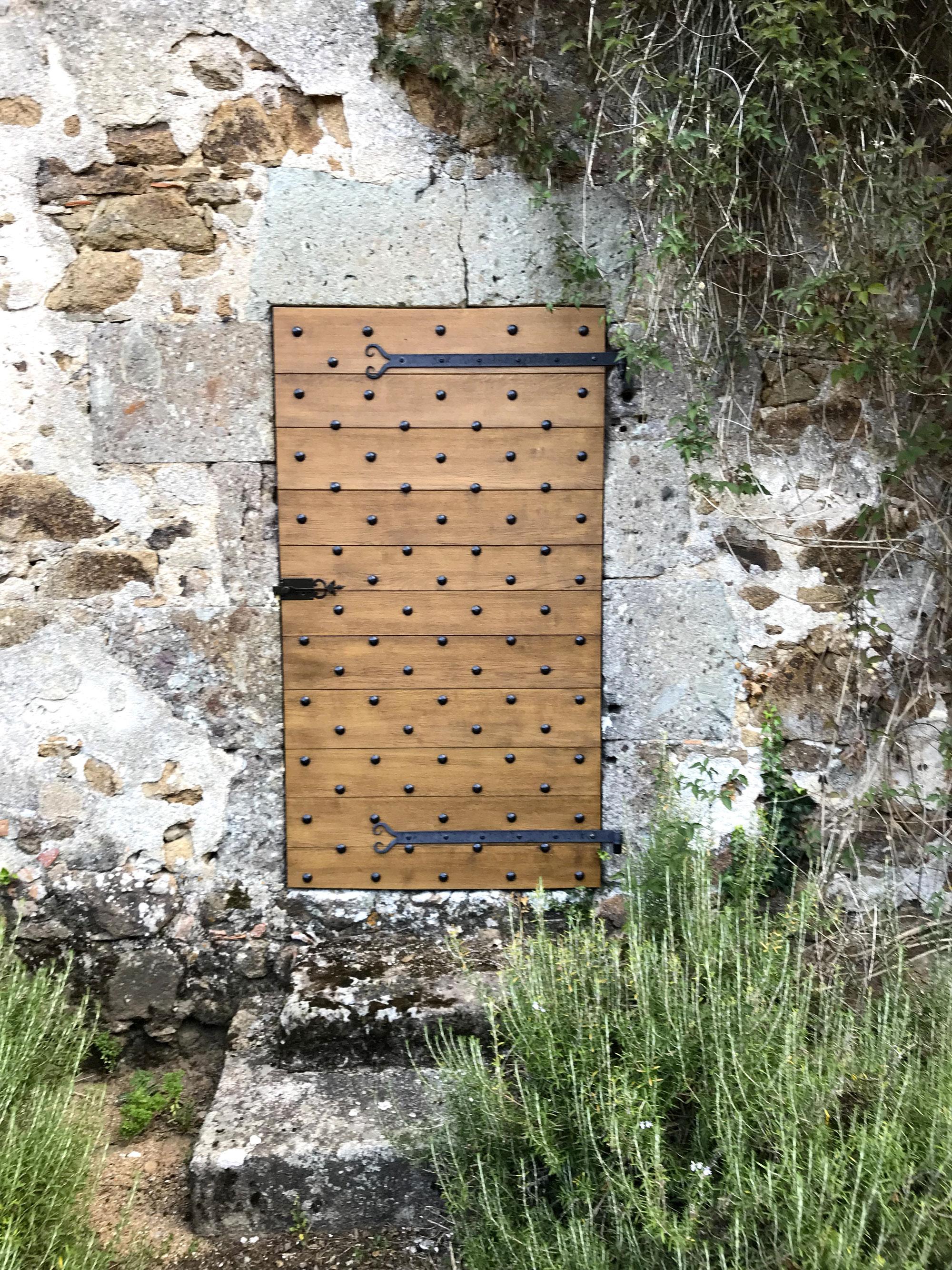 Porte bois Charente