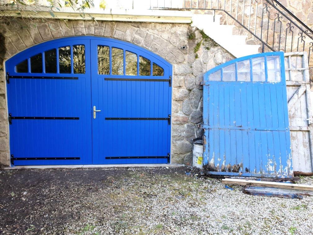 Porte de garage Charente