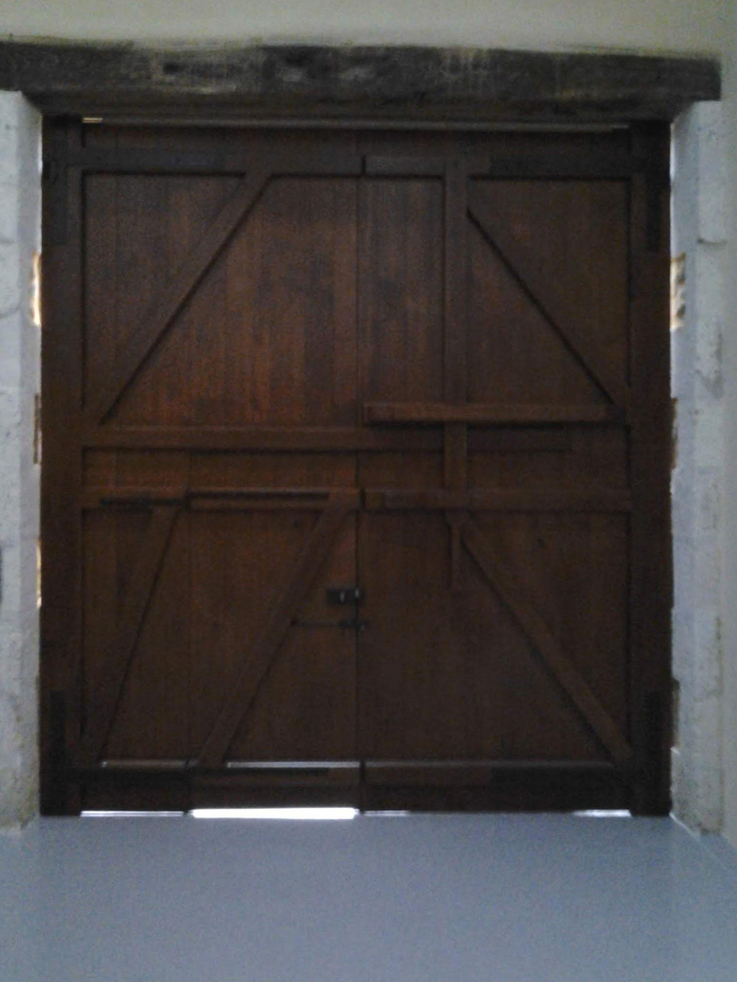 Porte de garage bois Charente