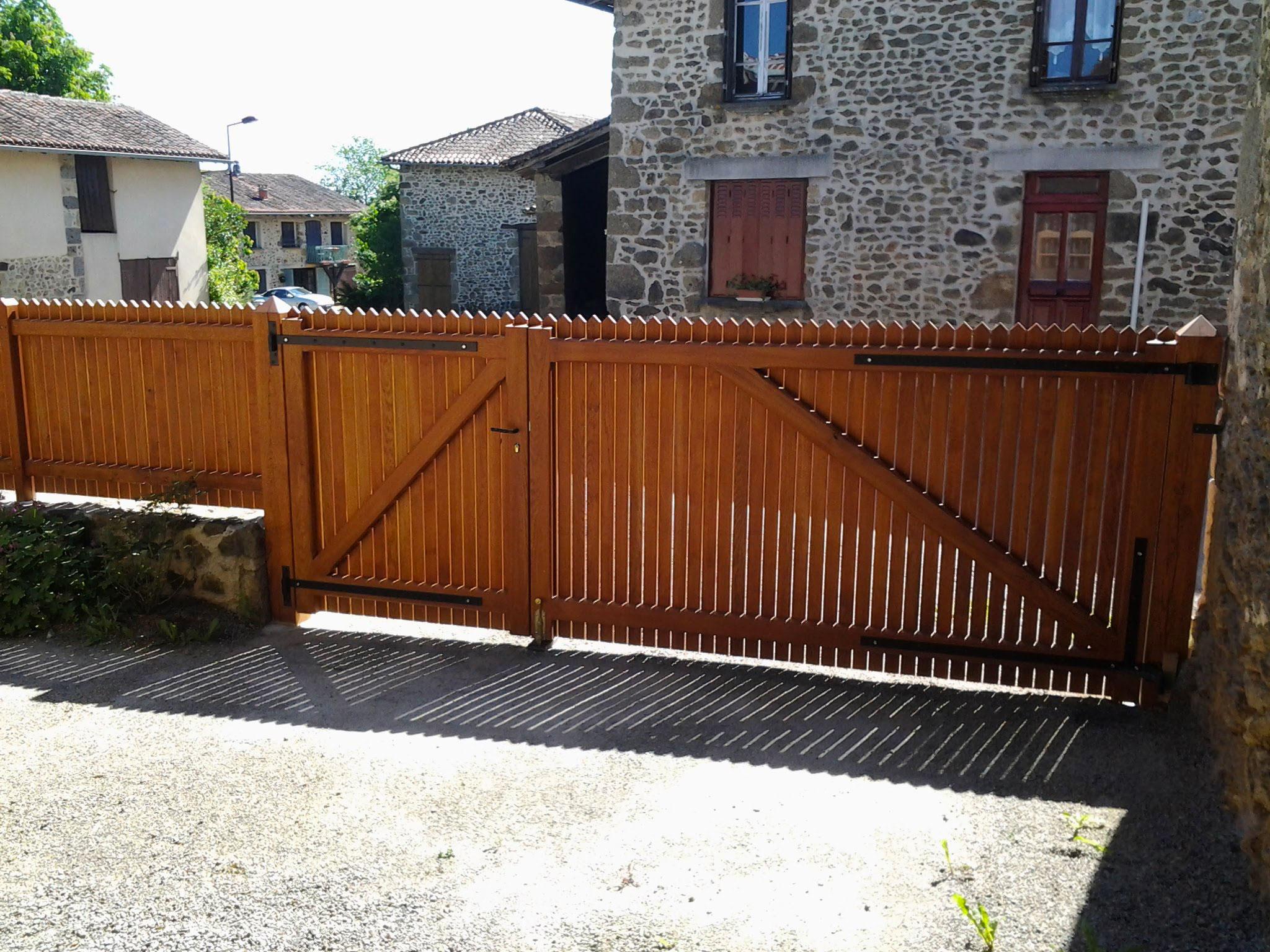 Porte de garage et portail