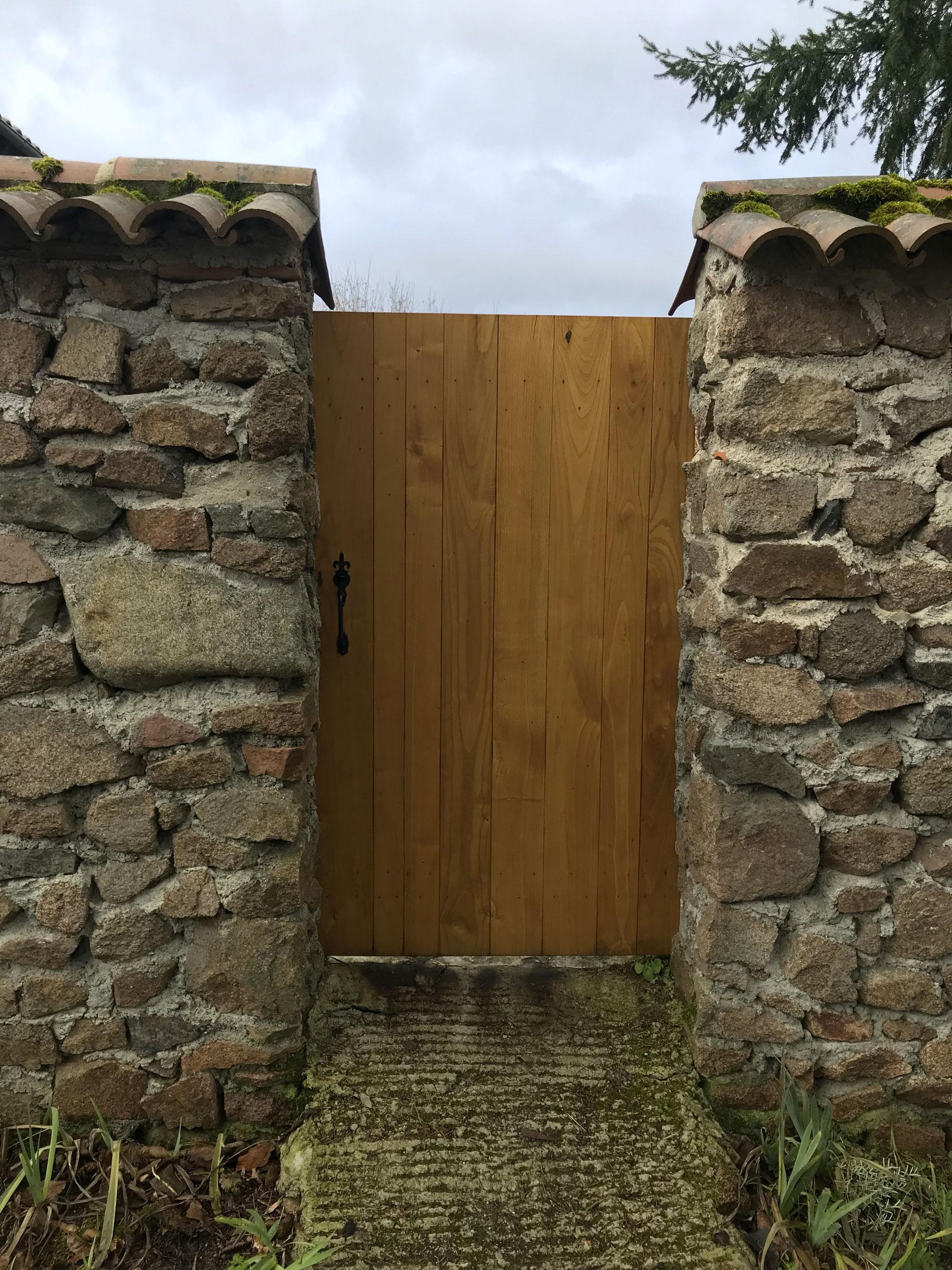 Porte en bois 16
