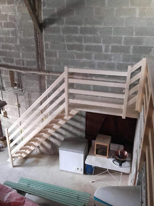 Rampe escalier Poitiers