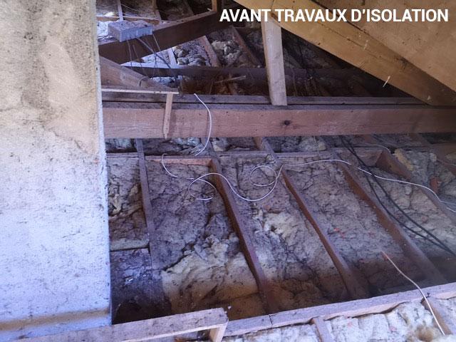 Isolation des combles Charente