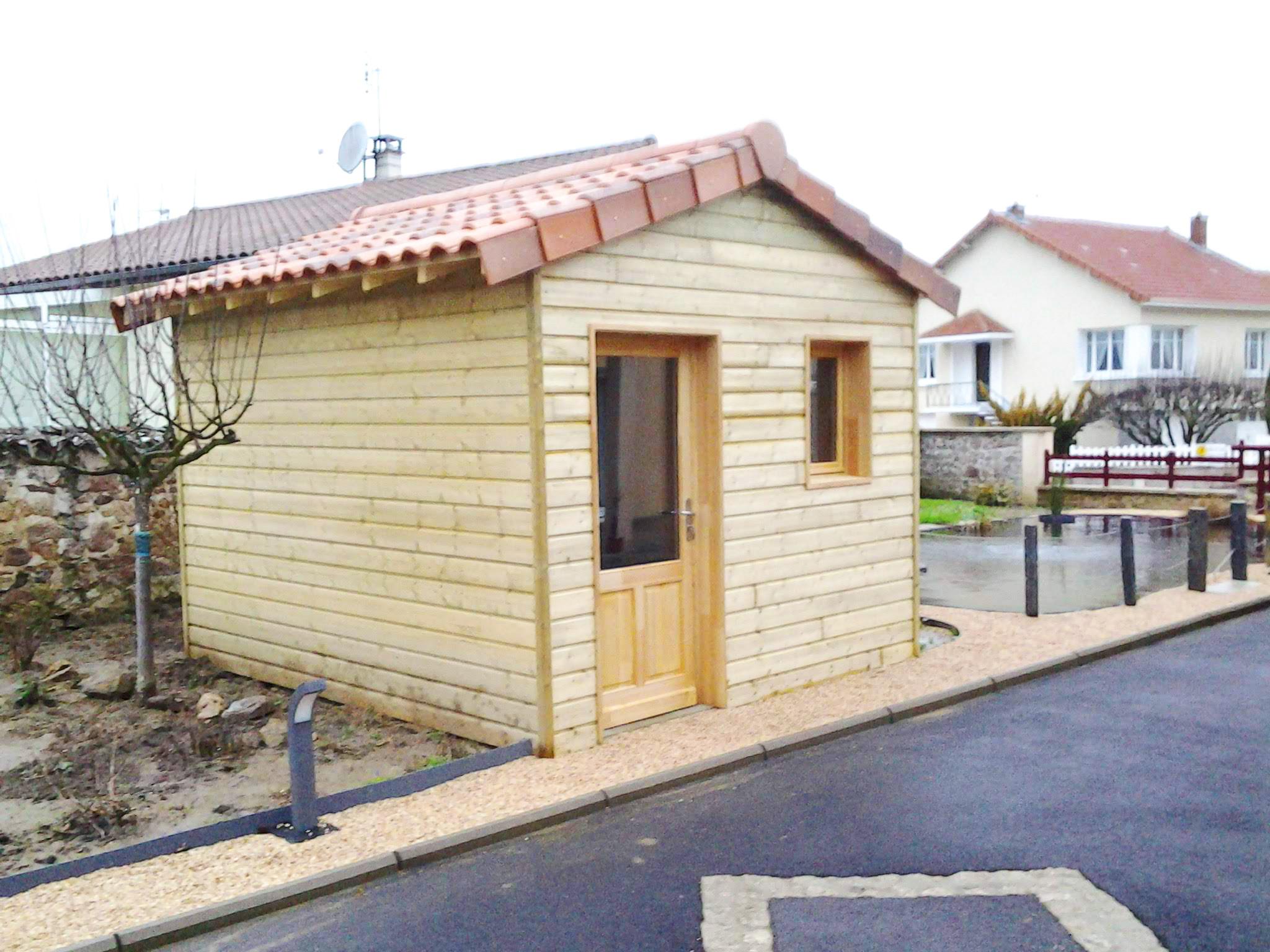 Abri de jardin Charente