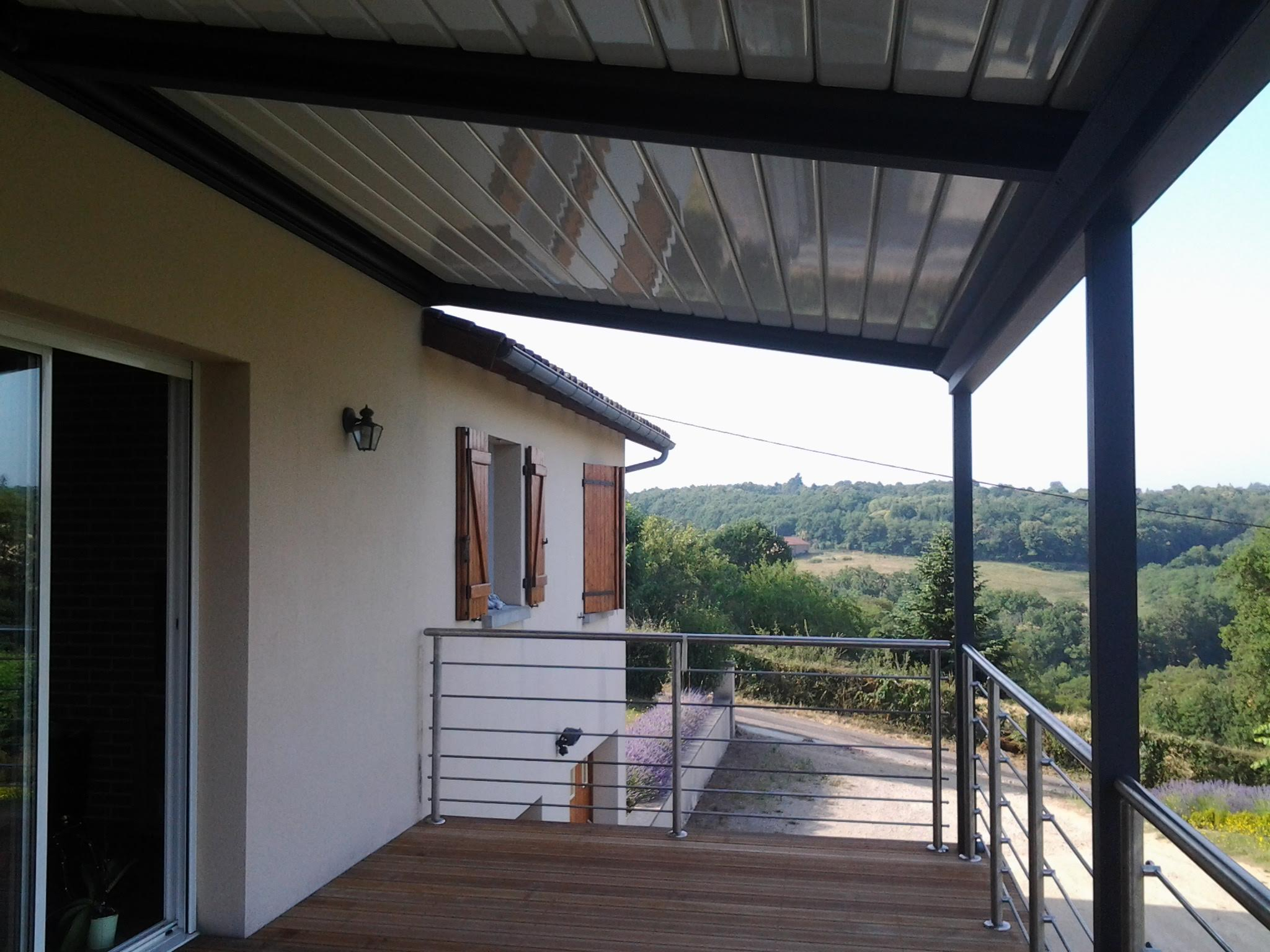Abri terrasse Angouleme