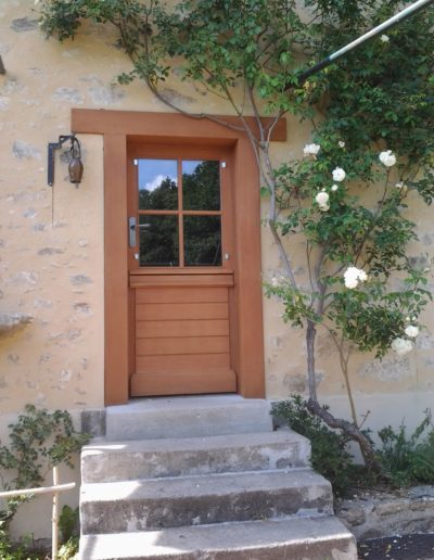 porte extérieure Limoges