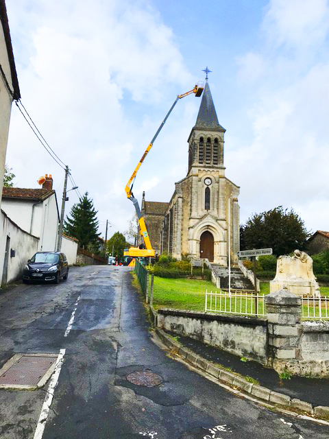 Success Story – Réparation de la toiture de l'église «Saint Sébastien» à Chabanais